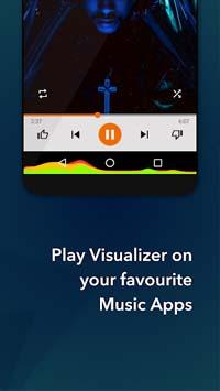 Muviz App Apk | Displays A Music Visualizer On Your Phone |